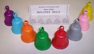 Childrens Learning Melodee Swiss Handbells Set 3392