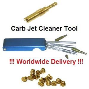 Carb Jet Cleaner Tool Kit Scooter Carburetor Cleaning Vespa