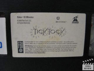 Tick Tock VHS Megan Ward Kristin Minter Linden Ashby David Dukes Tenney 806469157534