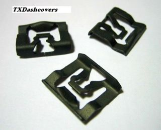 68 69 Ford Fairlane Windshield Reveal Moulding Clips 20