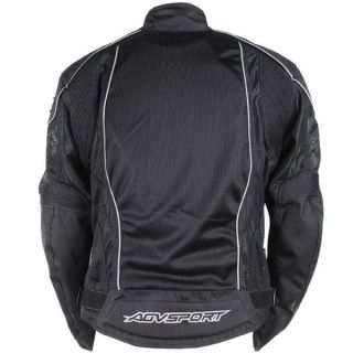 Agv Sport Valencia Vented Textile Jacket Motorcycle Jackets