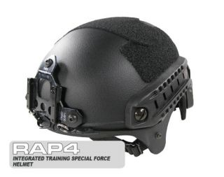RAP4 Integrated Training Special Forces Helmet Black
