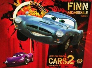 Finn McMissile Disney Pixar Cars 2 Lenticular 3D Image Floor Puzzle 40 PC Gift
