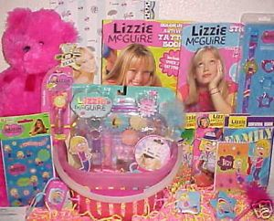 New Lizzie McGuire Hilary Duff Toy Easter Gift Basket Toys Books