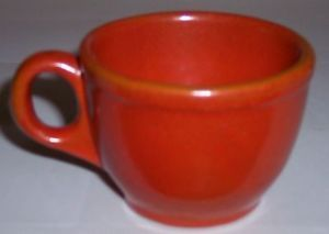 Catalina Island Pottery Red Clay Toyon Red Coffee Cup