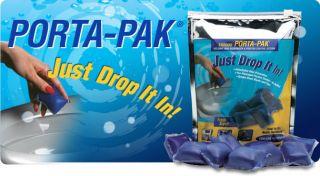 Pack of 10 Walex Porta Pak Holding Tank Deodorizer Trailers RV Boat Marine