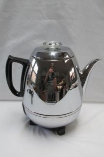 Vintage GE General Electric Automatic Percolator Coffee Pot Maker 2 9 Cups