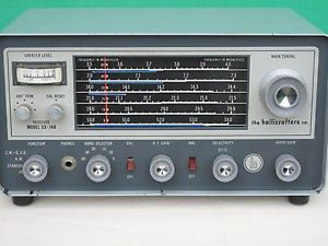 Hallicrafters SX 140 Ham Band Communications Receiver Works