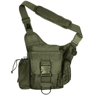 New Advanced Tactical Shoulder Hip Bag Loaded with Pockets Within Pockets Useful