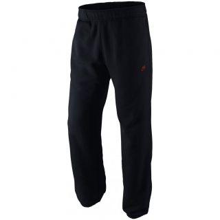 Nike Fleece Men's Training Joggers sweat Pants Tracksuit Bottoms Blk Orange 1817