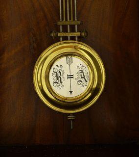 Beautiful Antique German Wall Clock at 1880