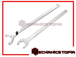 Mercedes Benz Fan Clutch Wrench Water Pump Removal Holder Tool Set