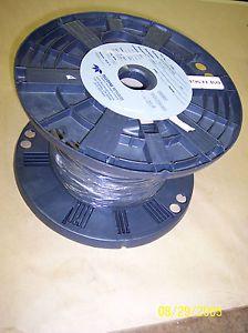 1 000' RG 174 U M17 Mil C 17 119G Mil Spec Black Coax Cable Ham Radio