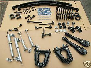 1965 1966 Mustang Complete Suspension Restoration Kit 289 Kit V8