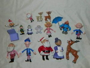 Rudolph The Red Nosed Reindeer Island Misfit Toys Figures