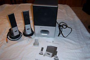 Altec Lansing VS4221 Computer Speaker System Subwoofer 2 Speakers Remote Manual