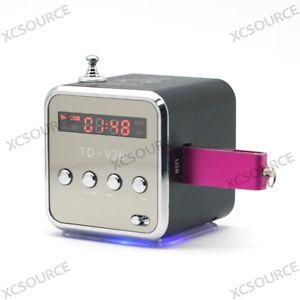 Micro SD TF USB Mini Speaker Music Player Portable FM Radio Stereo PC  IP20