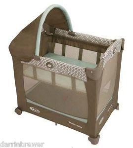 New Graco Travel Lite Portable Crib Fenwick Collection