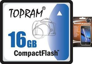 6F 16GB Compact Flash CF Memory Card 16g CompactFlash for Digital Camera 16GIG