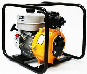 "6 5 HP 1 1 2"" Emergency Fire Pump Gasoline Gas Water Pump"