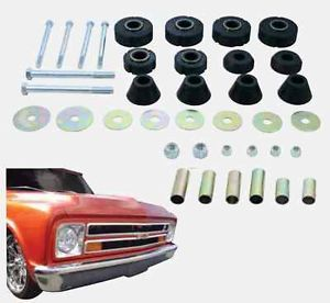1967 1972 Chevy Truck Cab Mounting Kit Complete Rubber Hardware Kit 38 Piece