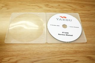 Genuine Yaesu ft 920 Service Manual CD Used Parts