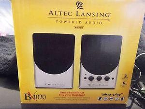 Altec Lansing BX1020 Computer Speakers Satelite Speakers 021986941910