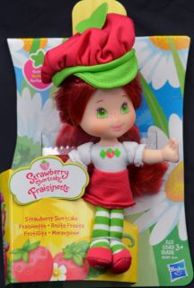 Strawberry Shortcake 2009 Hasbro Soft Mini 6 inch Doll New on Card Scented