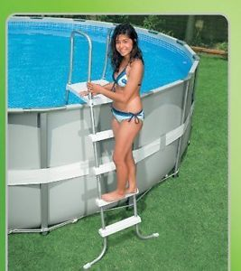 """Intex Ultra Frame 16' x 48"""" Above Ground Family Swimming Pool Kit Complete New"""