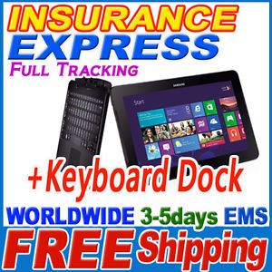 Samsung Ativ XQ700T1C F52 Smart PC Pro 700T Tablet WINDOWS8 s Pen Keyboard 887276011349