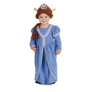 Princess Fiona Shrek Halloween Costume Baby 1 2 New