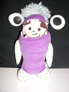 "Disney 10"" Monsters Inc Baby Boo in Monster Costume Plush"