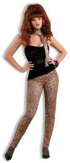 80's Heavy Metal Peggy Bundy Cheetah Leopard Animal Print Costume Stretch Pants