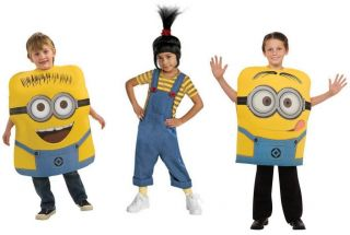 Child Toddler Super Villain Movie Despicable Me Agnes Minion Jorge Dave Costume