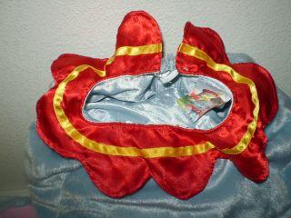 Disney Dumbo Halloween Costume 6 Piece Baby Infant 12 18 Months mos Excellent