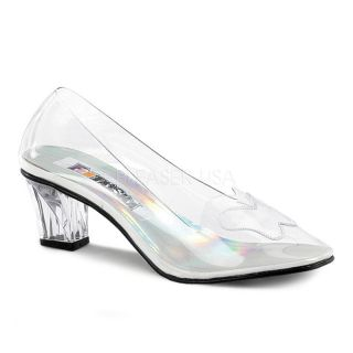 Clear Glass Slippers Cinderella Costume Shoes Child Girls Toddler Size 11 12 13
