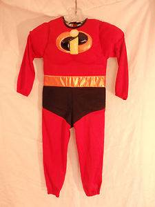 Incredibles  Halloween Costume XS Child Toddler Authentic Pad Chest