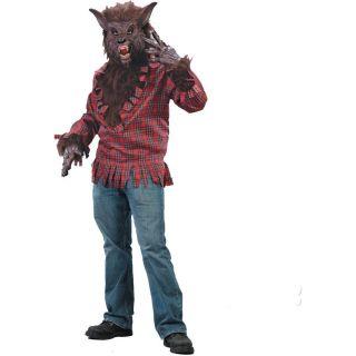 Werewolf Brown Adult Costume Warewolf Were Wolf Wolf Beast Big Bad Wolf