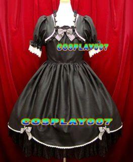 Wedding Dress Lolita Sissy Sweet Handmade Red Love Emo