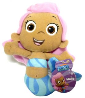 Nick Jr Bubble Guppies Plush Friends TV Show Characters Baby Preschool Toy