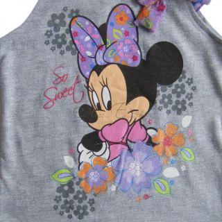 Girl Kid Dora Minnie Summer Outfits Top Denim Floral Mini Dress Skirt 2 5 Years
