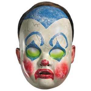 Clown Baby Doll Mask Costume Accessory Adult Scary Creepy Halloween