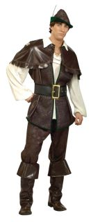 Robin Hood Designer Collection Medieval Renaissance Adult Mens Costume Capelet