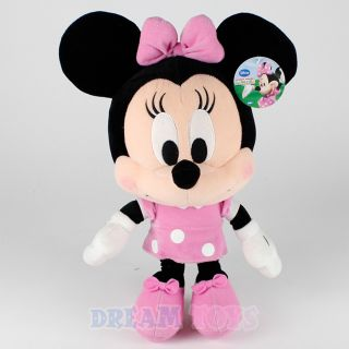 Disney Minnie Mouse Pink Plush Doll Baby Version Stuffed Toy Licensed
