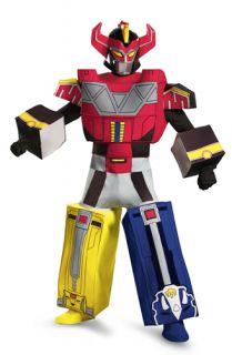 Mens Power Rangers Megazord Costume Standard Size 42 46