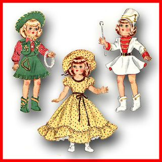 "Vintage Doll Clothes Pattern 14"" Betsy McCall"