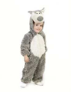 Baby Infant Toddler Child Little Big Bad Wolf Costume 6 12 18 MO 2T 3T 3 4 5 6