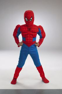 Spiderman Costume Kids Muscle