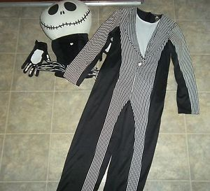 Disney Store Nightmare Before Christmas Jack Skellington Child Costume L 10 12
