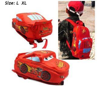 Children Disney Pixar Cars McQueen Kids Boy Girl's Backpack School Bag Xmas Gift
